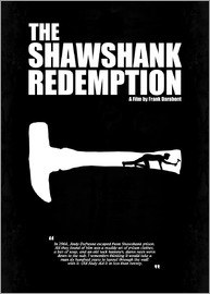 HDMI2K - The Shawshank Redemption - Minimal Movie Film Fanart Alternative