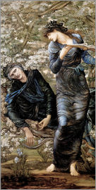 Edward Burne-Jones - Beguiling of Merlin