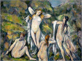 Paul Cézanne - Four Bathers