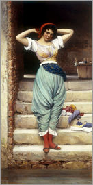 Eugen von Blaas - The Washerwoman