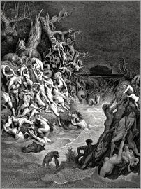 Gustave Doré - The world will be destroyed by water