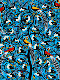 Saidi - The wild bird flock by night
