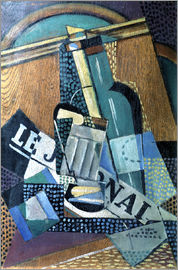 Juan Gris - The newspaper