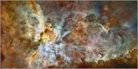 Stocktrek Images - The central region of the Carina Nebula