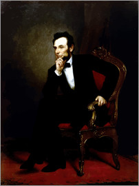 John Parrot - Digital restored image of Abraham Lincoln