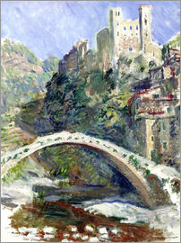 Claude Monet - Castle of Dolceacqua