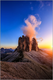 Muharrem Ünal - dolomites mountains