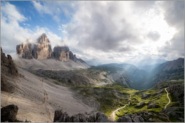 Sebastian Jakob - Dolomites-Three Peaks-Mountain Panorama