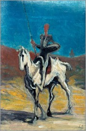 Honoré Daumier - Don Quixote