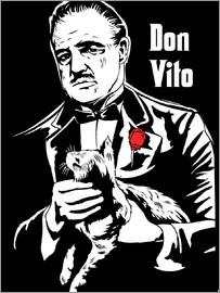 2ToastDesign - Don Vito Corleone the godfather art print