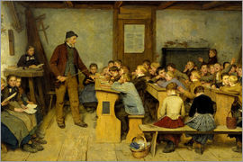 Albert Anker - Village School