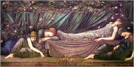 Edward Burne-Jones - Briar Rose - The Rose Bower
