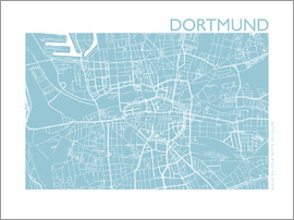 44spaces - DORTMUND Road Map ice 44spaces