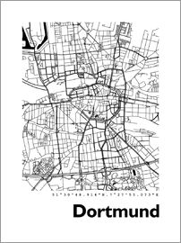 44spaces - Dortmund city map HF 44spaces