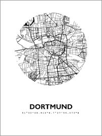 44spaces - Dortmund city map HFR 44spaces