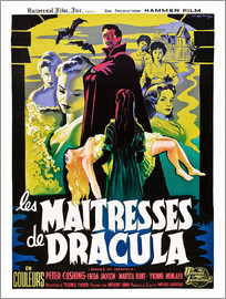 THE BRIDES OF DRACULA (LES MAITRESSES DE DRACULA), David Peel