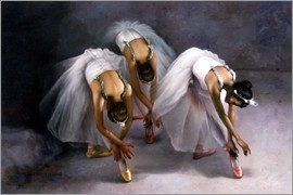Yoo Choong Yeul - Three ballerina