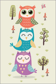 Kidz Collection - Three owls