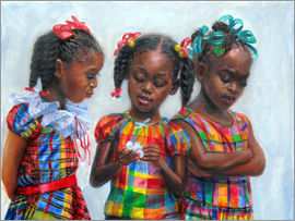 Jonathan Guy-Gladding - three girls