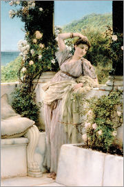 Lawrence Alma-Tadema - Thou Rose of All the Roses