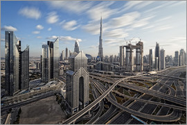 Dieter Meyrl - Dubai City Long Exporsure