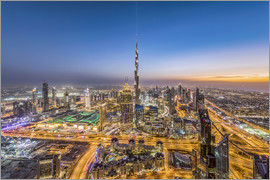 Dieter Meyrl - Dubai City Sunset