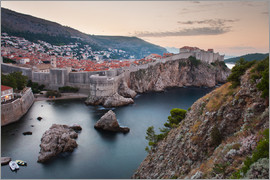 Matthew Williams-Ellis - Dubrovnik at sunrise