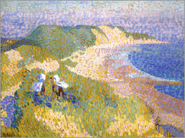 Jan Toorop - Dunes and sea in Zoutelande
