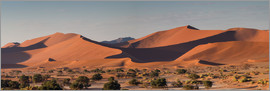 Circumnavigation - Dune landscape in the Sossusvlei, Namibia