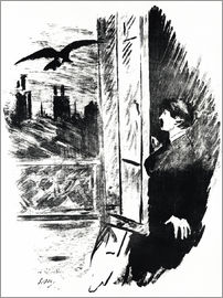 Edouard Manet - E.A.Poe, The Raven