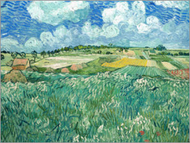 Vincent van Gogh - Plain near Auvers with rain clouds