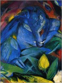 Franz Marc - Boar and Sow (wild boars)