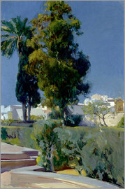 Joaquin Sorolla y Bastida - Corner of the Garden