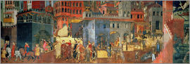 Ambrogio Lorenzetti - Good Government in the City