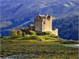 Ric Ergenbright - Eilean Donan Castle in the Scottish Highlands