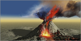 Corey Ford - An active volcano erupts