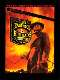 HIGH PLAINS DRIFTER, Clint Eastwood