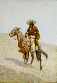 Frederic Remington - A Mexican Vaquero