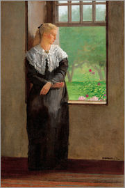 Winslow Homer - An Open Window