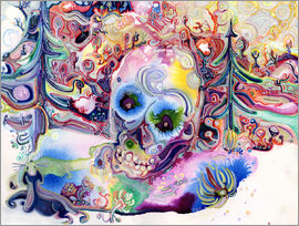 Josh Byer - A Skull in the Forest
