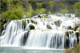 Alex Robinson - A waterfall in Krka National Park