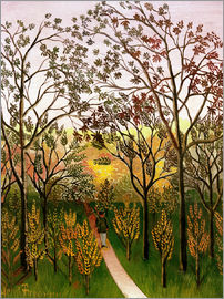 Henri Rousseau - A corner of the Bellevue plateau