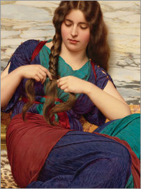 John William Godward - A congenial task, detail