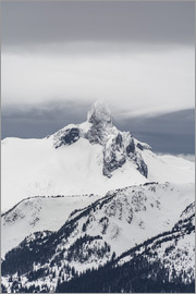Paul Porter - A view of Black Tusk from the peak of Whistler Mountain