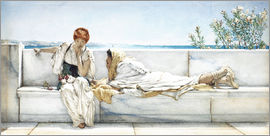 Lawrence Alma-Tadema - A Question.