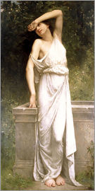 William Adolphe Bouguereau - A Classical Beauty by a Well