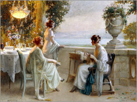 Delphin Enjolras - A Soiree on the Terrace
