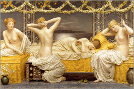 Albert Joseph Moore - A Summer Night