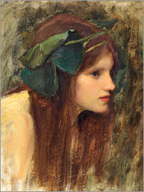 John William Waterhouse - A Study for a Naiad
