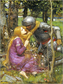 John William Waterhouse - A study for La Belle Dame sans Merci